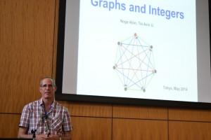 写真:Alon 教授の講演風景